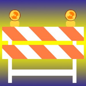 road block icon
