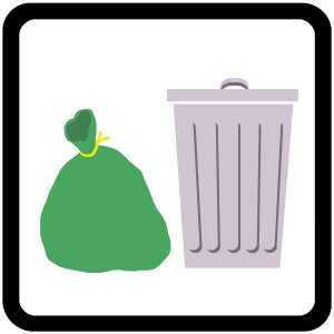 Rubbish / Trash Icon