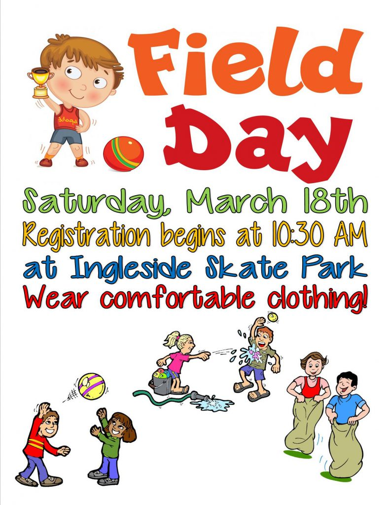 Flyer for Field Day