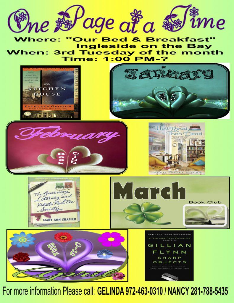 Book Club Jan 17