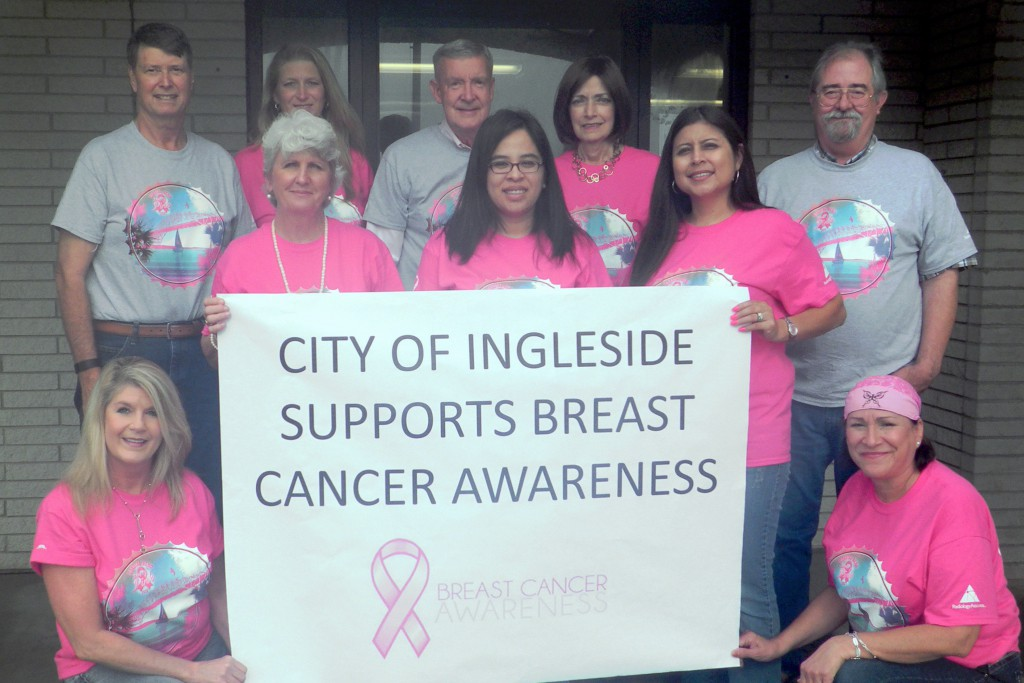 The City of Ingleside Supports Breast Cancer Awareness