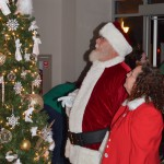 Children's Christmas Tree Lighting Photo